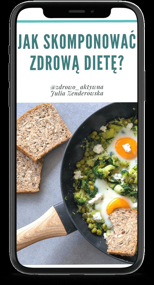 """Darmowy ebook """"Jak skomponować zdrową dietę?"""""""