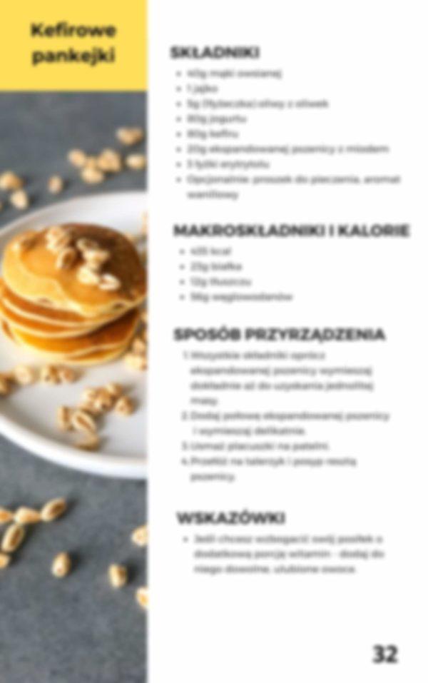 Przepis na kefirowe pancakes