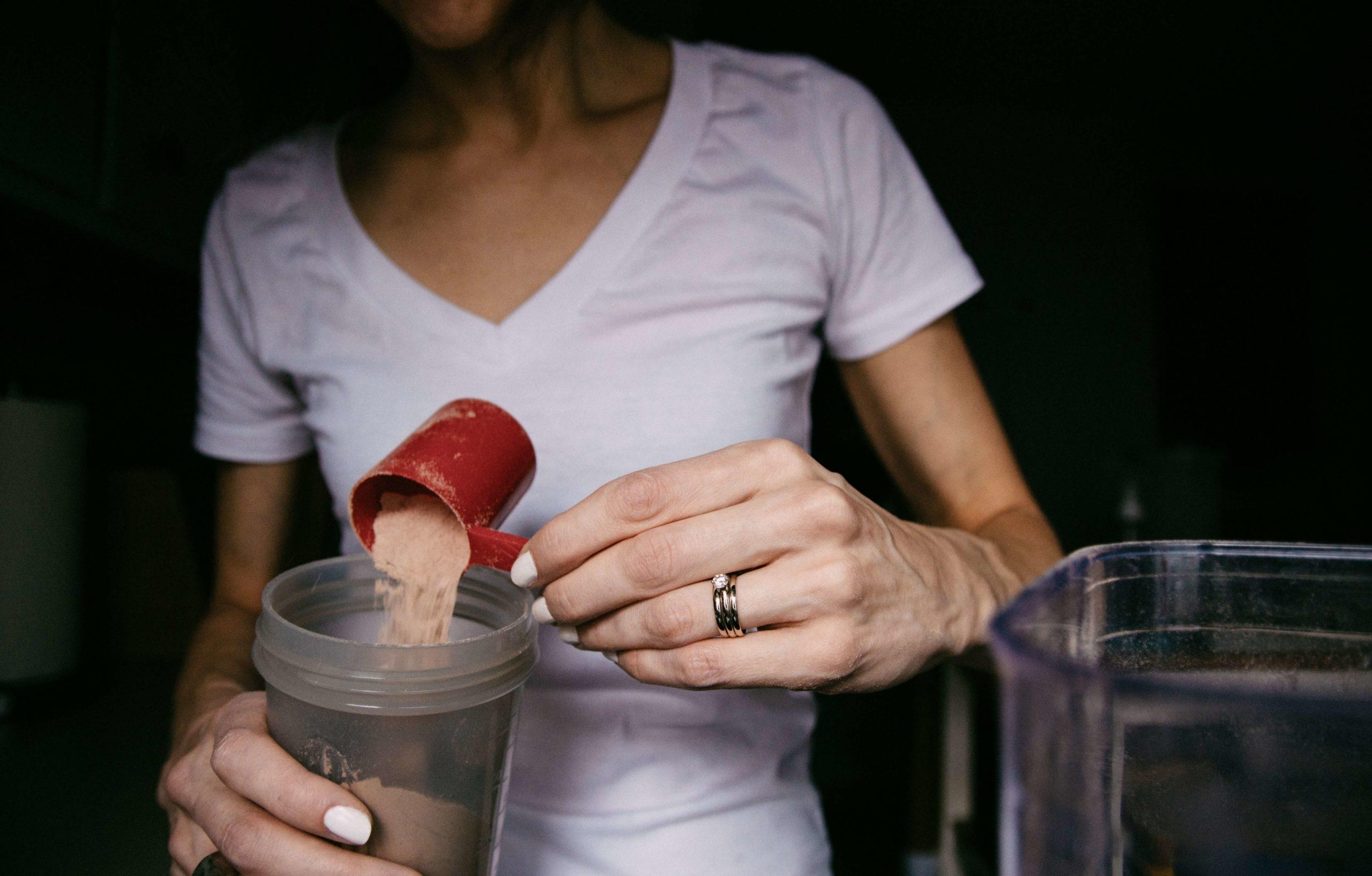 Odżywka białkowa u sportowców i osób aktywnych fizycznie