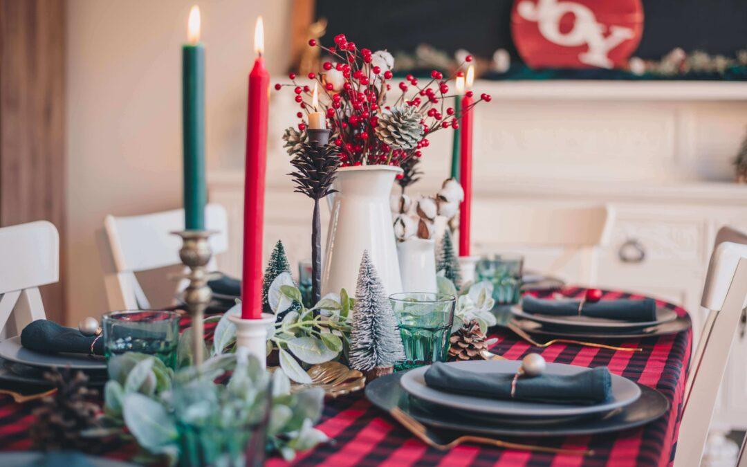 zdrowe święta ; świąteczny stół